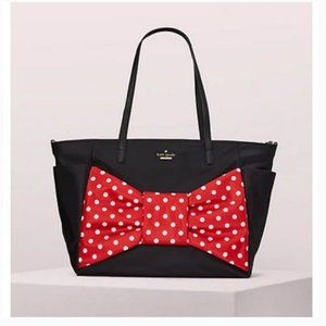 kate spade x minnie mouse bethany baby bag nwot